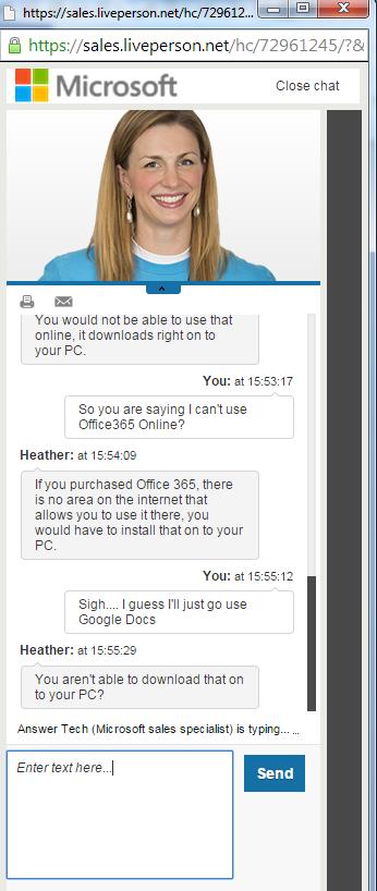 Microsoft Office 365 stupidity
